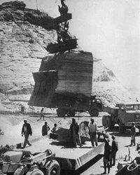 The Abu Simbel move was undertaken from 1964 to 1966 and funded by donations from 52 countries.