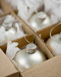Pack fragile items carefully so you don't have to replace them next year.