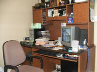 Learn how to set up a home office that meets all your needs. See more home office pictures.