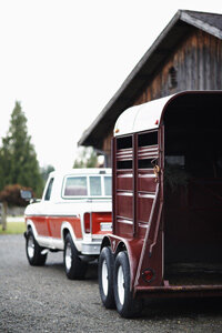 Drivers must take extra care when towing a horse trailer.