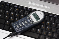 VoIP (Voice over Internet Protocol) phones are being used increasingly for Web conferencing.