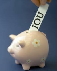 Some 401(k) plans allow you to borrow money from your fund, which you repay to yourself, not a bank!