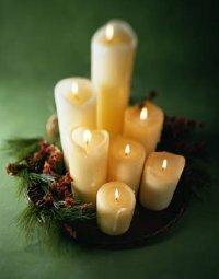 Flickering candles set a lovely mood, but don't let wax stains ruin your evening.