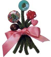 Create beautiful bouquet pins