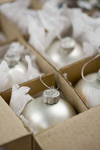 Organized ornaments are less likely to get damaged. See more Christmas pictures.
