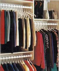 A flexible organizing system can make all the difference in how your closet looks.
