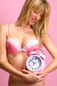 Timing is everything when it comes to female fertility.