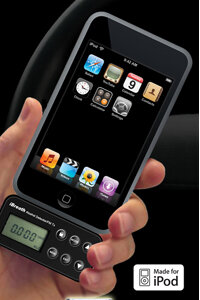 The iBreath Alcohol Breathalyzer plugs into the base of an iPhone. See more pictures of essential gadgets.