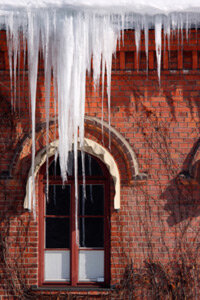 Icicles are a sign that heat is escaping through your rooftop.