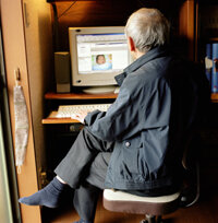 Older adults tend to use e-mail more than younger ones.
