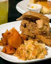 Soul food can be found in homes throughout the Southeast.