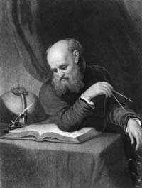 Italian physicist and astronomer Galilei Galileo (1564 - 1642)