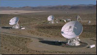 The DSN array of antennas would be used to send and receive data over the interplanetary Internet.