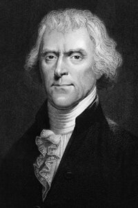 Thomas Jefferson questioned tradional ideas about Jesus.