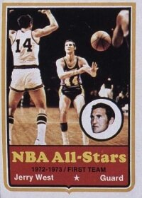 Jerry West went to nine NBA Finals and 14 All-Star Games in his career. See more pictures of basketball.