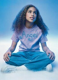 Give your little angel a new shirt.