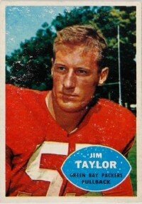 Jim Taylor was small for a                              fullback but could generate                                            huge amounts of power against                                            defenders. See more pictures                                            of the best football players.