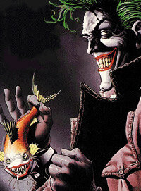 """Cover art from """"The Greatest Joker Stories Ever Told"""""""