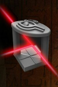 The Eye of Horus expansion divides lasers into two beams.