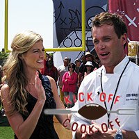 Try these great recipes from the football fans and players on TLC's Kick Off Cook Off.