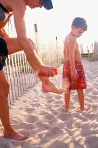 Some parents won't use DEET sprays on their children out of concern of health complications.