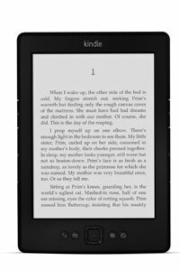 While the original Kindle only came in off-white, newer versions of the basic model have been released in graphite and onyx black.