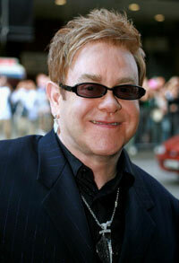 Queen Elizabeth knighted Elton John in 1998.