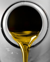 Viscosity is a measure of how easily the oil flows.