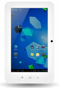 The iMuz is the larger of Latte's two tablet offerings.