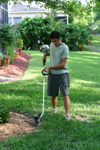 Lawn edging is harder than it looks. When in doubt, hire a pro