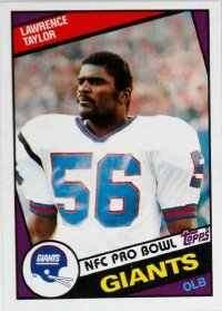 Lawrence Taylor's ability to                              dominate a game with his                                            attack style changed the                                            outside linebacker position.                                            See more pictures of football.