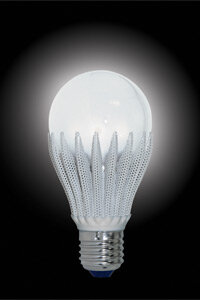 The LED light bulb is making waves in the lighting market. See more green science pictures.