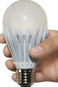 Some LED bulbs can last up to 50,000 hours.