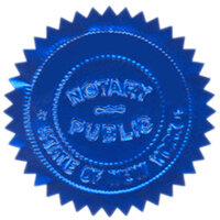 Depending on the law in your state, you may need a notary public's stamp in order for your living will to be valid.