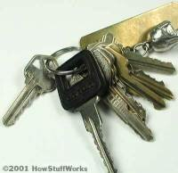 A master key can open many different types of locks.