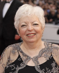 Academy Award-winning film editor Thelma Schoonmaker at the Cannes Film Festival in 2009.
