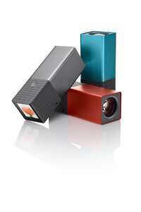 Lytro cameras are available in a variety of colors.