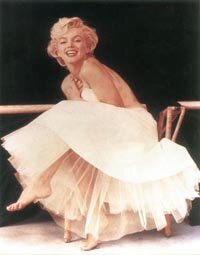 Marilyn's genius as a photographer's model was seldom more apparent than in this Milton Greene session of 1956.