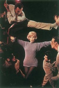 "Let's Make Love perks up only in isolated moments, most notably in Marilyn's lively ""My Heart Belongs to Daddy"" number."