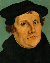 Martin Luther helped pave the way for people slightly related to each other to get married, as he rejected the Catholic Church's restrictions on marriage.