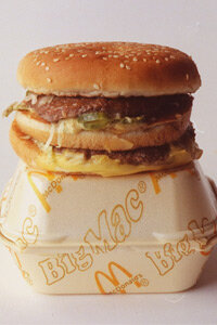 The Big Mac, invented by a McDonald's franchisee, was a huge success for the company.