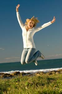 Women score slightly higher than men on happiness evaluations. See more emotion pictures.