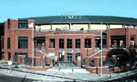 The 10,000-seat Durham Bulls Athletic Park was designed by the same group responsible for Camden Yards in Baltimore.