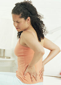Severe back pain can be a sign of miscarriage.