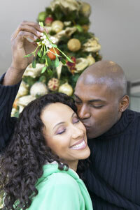 Mistletoe is a symbol of love and fertility.