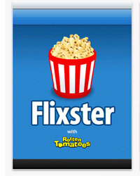 Screenshot from version 4.7.1 of Flixster for the iPad and iPhone