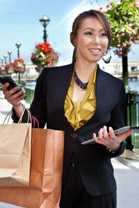 Mobile credit card readers let customers make a digital swipe.