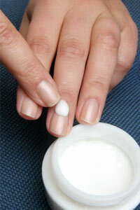 Moisturizing your nails will keep your hands looking soft, young and healthy.