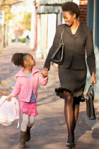 Working motherhood has its costs -- and its rewards.