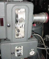 Tens of thousands of movie theaters across the U.S. use projectors like this one.